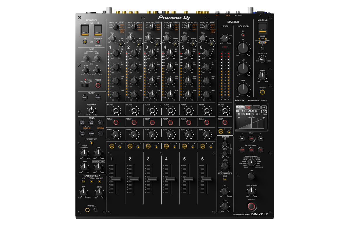 Pioneer DJ DJM-V10-LF – mikser dla DJ'ów