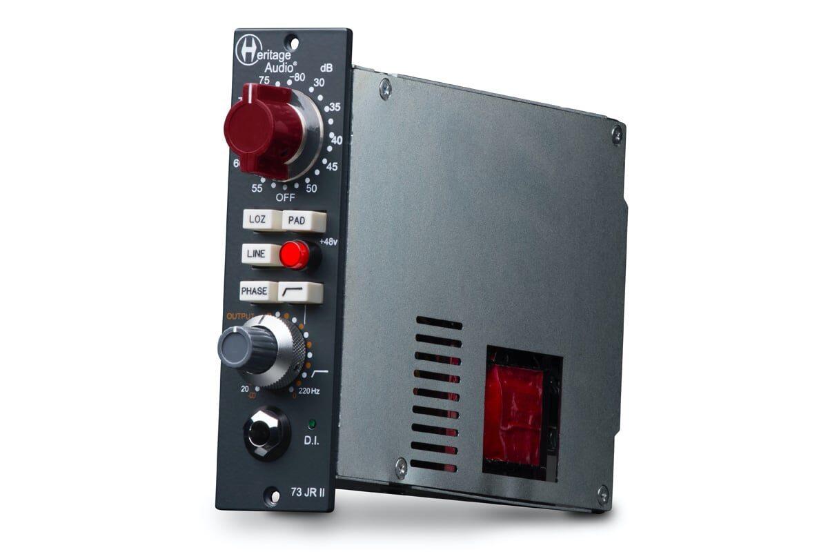 Heritage Audio 73JR II – preamp w formacie 500