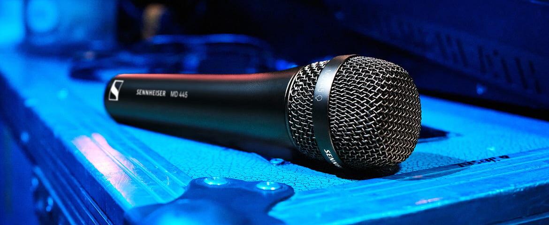 MD 445 i MD 435 – nowe mikrofony firmy Sennheiser