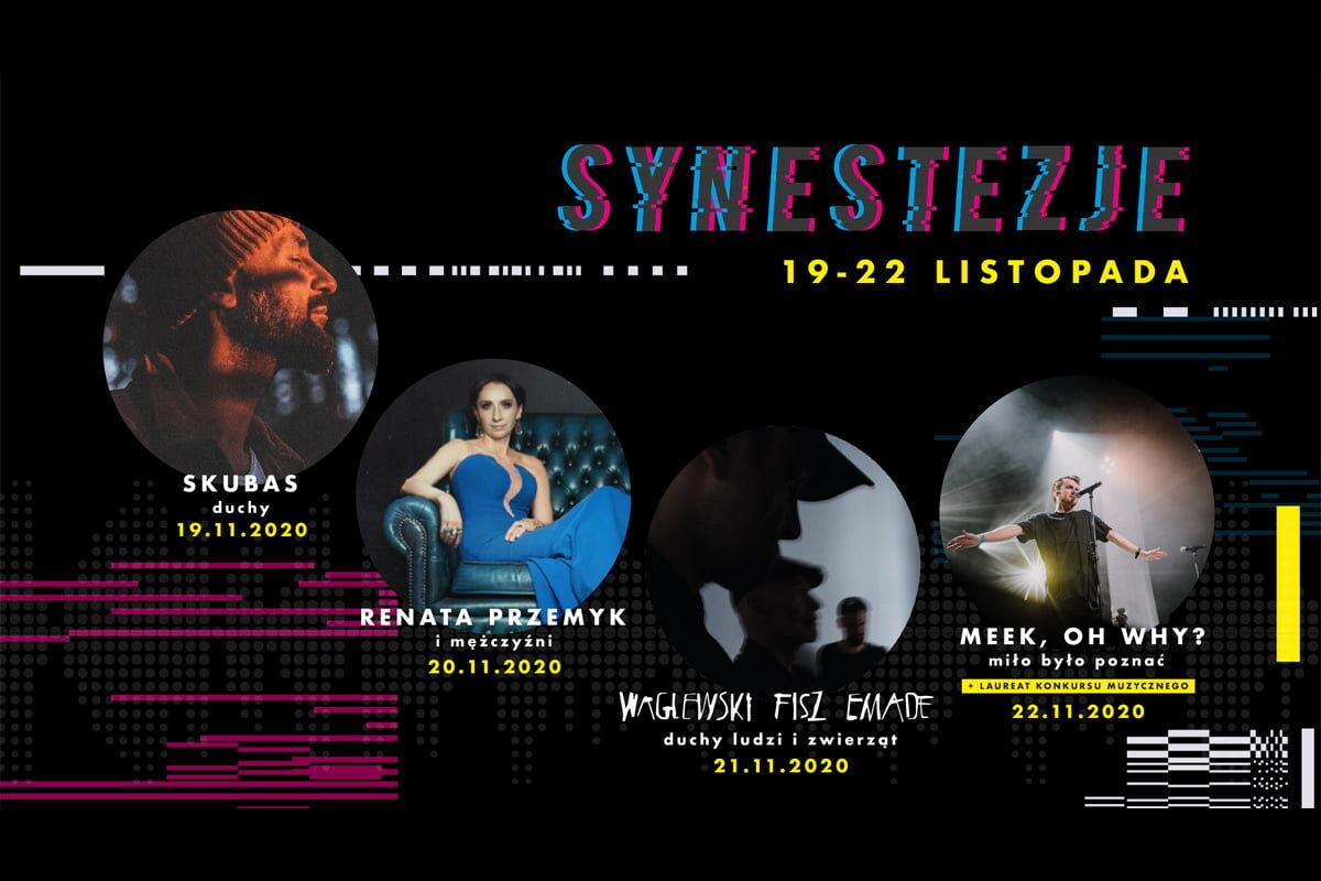 Festiwal Synestezje 2020 tylko w Sieci