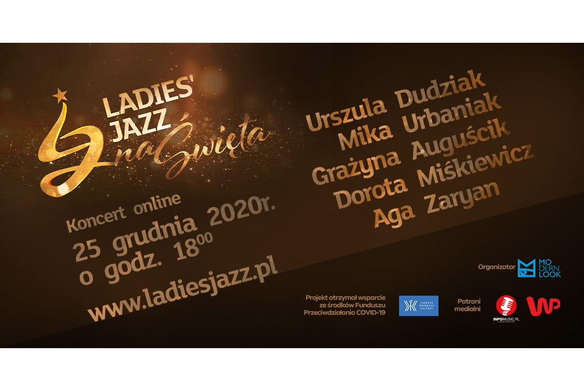 Ladies' Jazz na Święta  – internetowy koncert