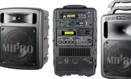 Przegląd – przenośne systemy nagłośnieniowe: MIPRO