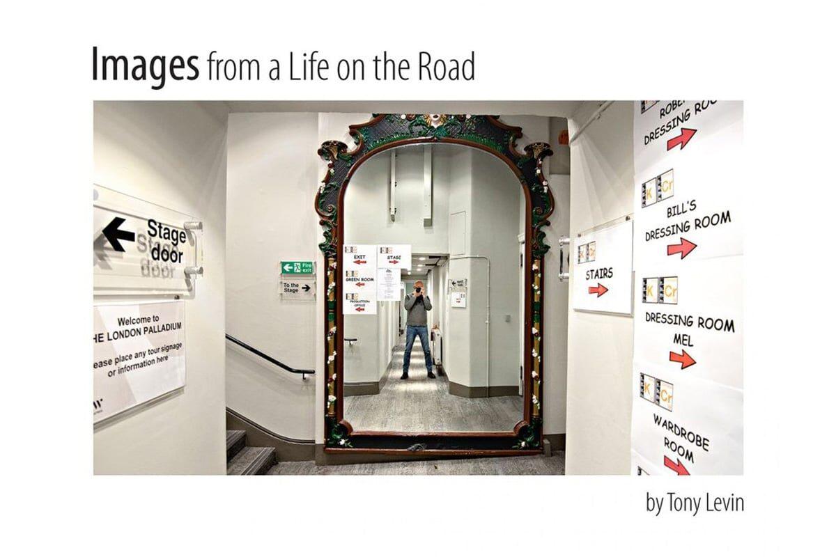 Tony Levin i jego fotoksiążka