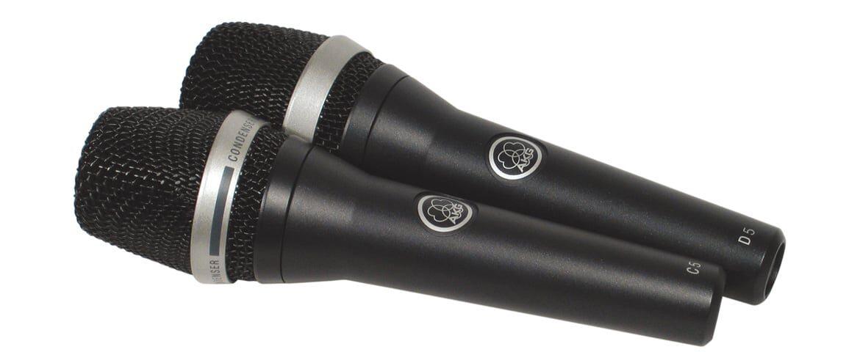AKG C 5 i D 5 – test mikrofonów wokalnych