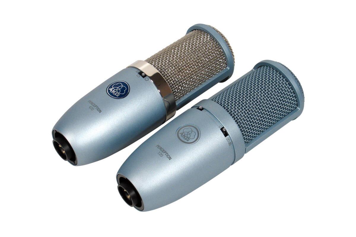 AKG Perception 120 i 420 – test mikrofonów pojemnościowych