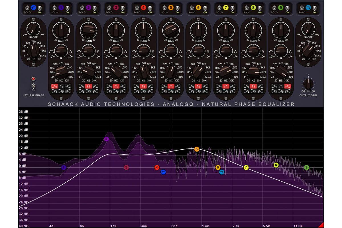 Schaack Audio Technologies AnalogQ – wirtualny korektor
