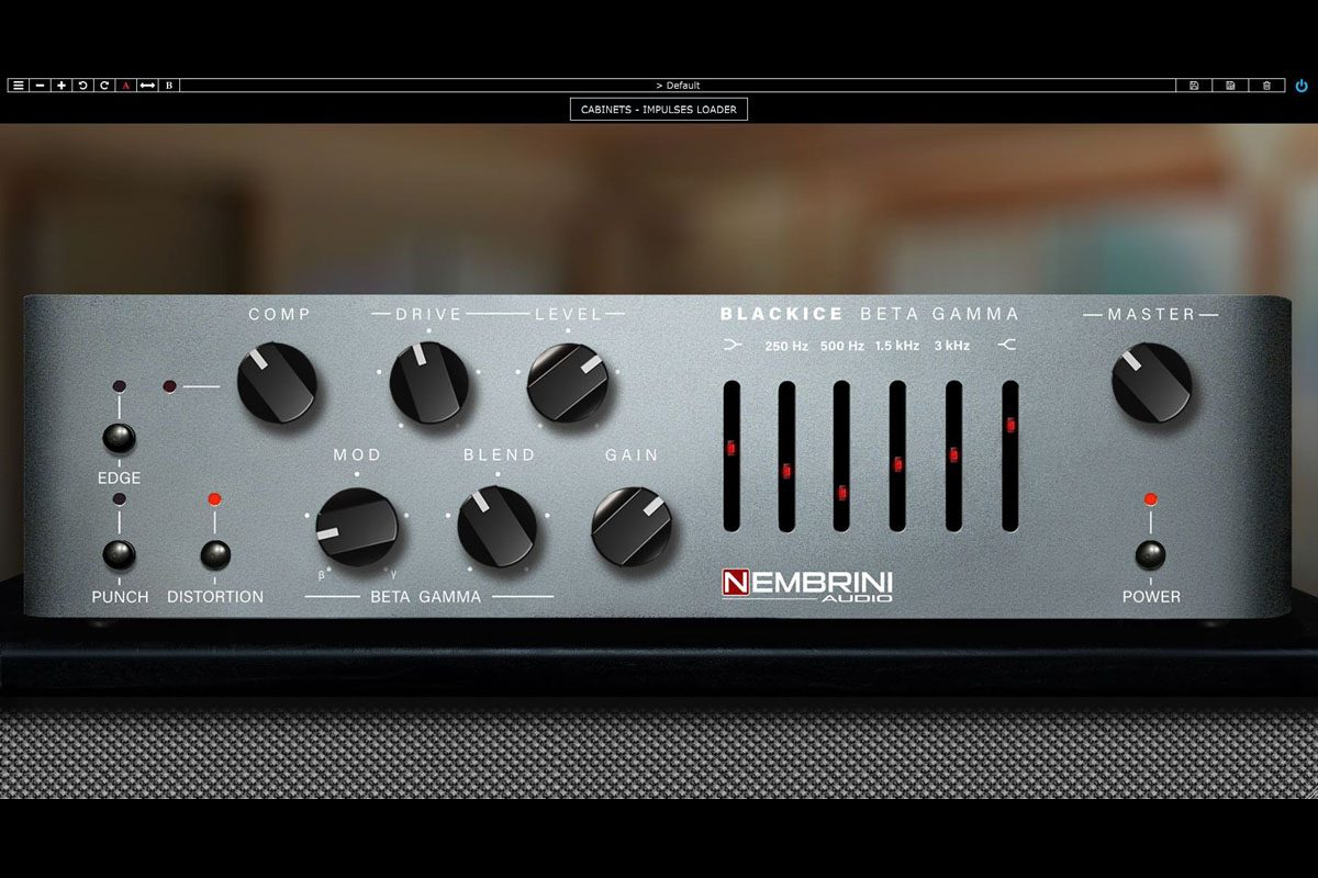 Nembrini Audio Blackice Beta Gamma Bass Amplifier