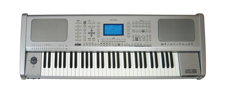 Ketron SD5 HD – test keyboardu