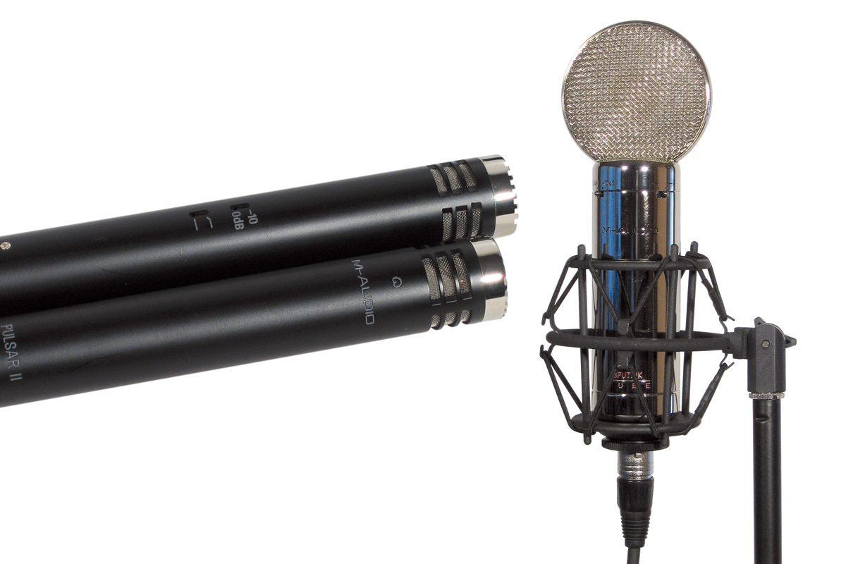 M-Audio Pulsar II i Sputnik – test mikrofonów pojemnościowych