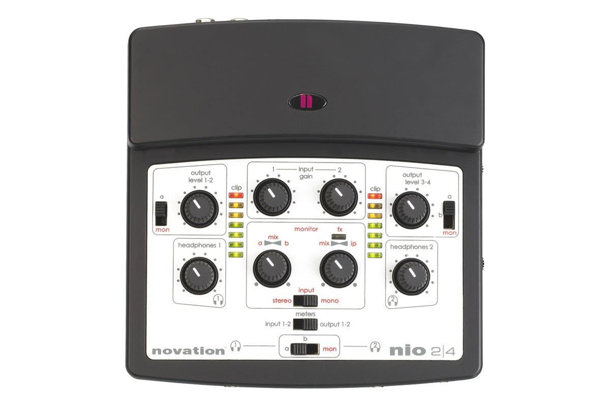 Novation nio 2|4 – test interfejsu audio
