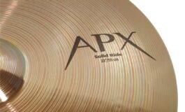 Sabian APX – test talerzy perkusyjnych
