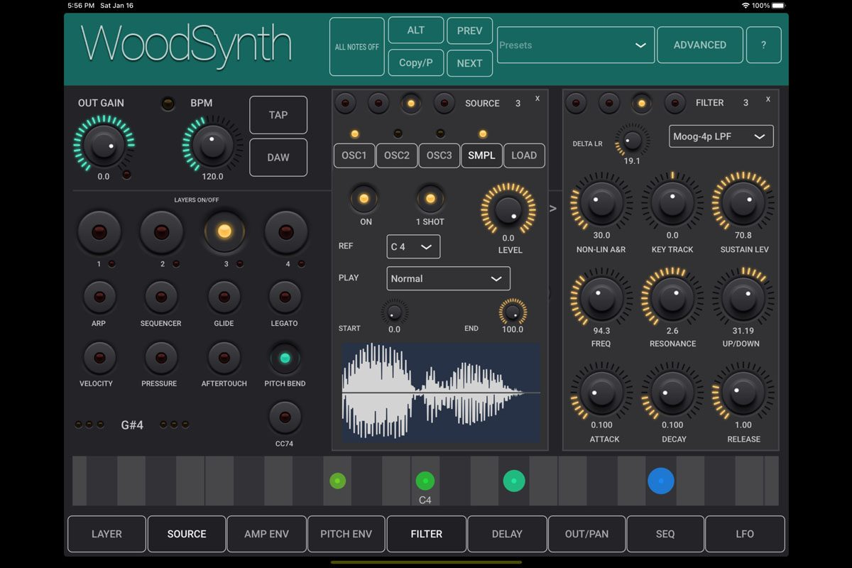 Woodman's Immaculate Maple Syrup Studio WoodSynth