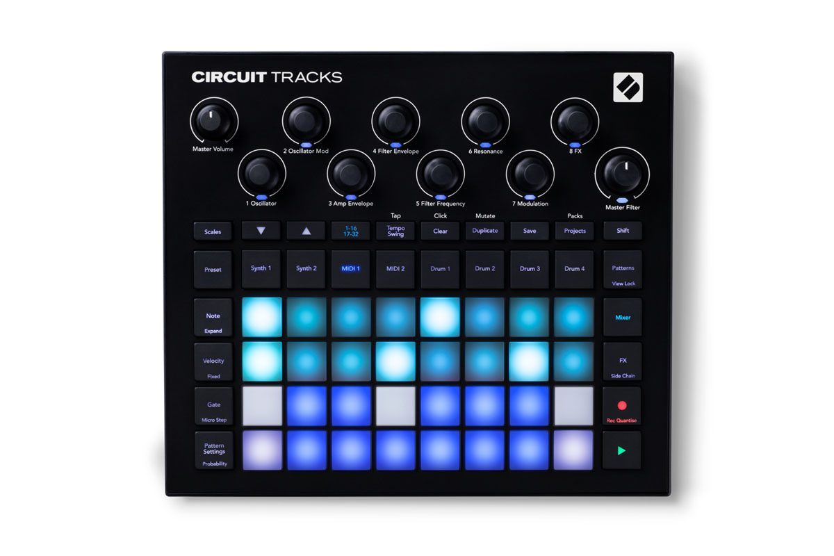 Novation Circuit Tracks – nowy groovebox