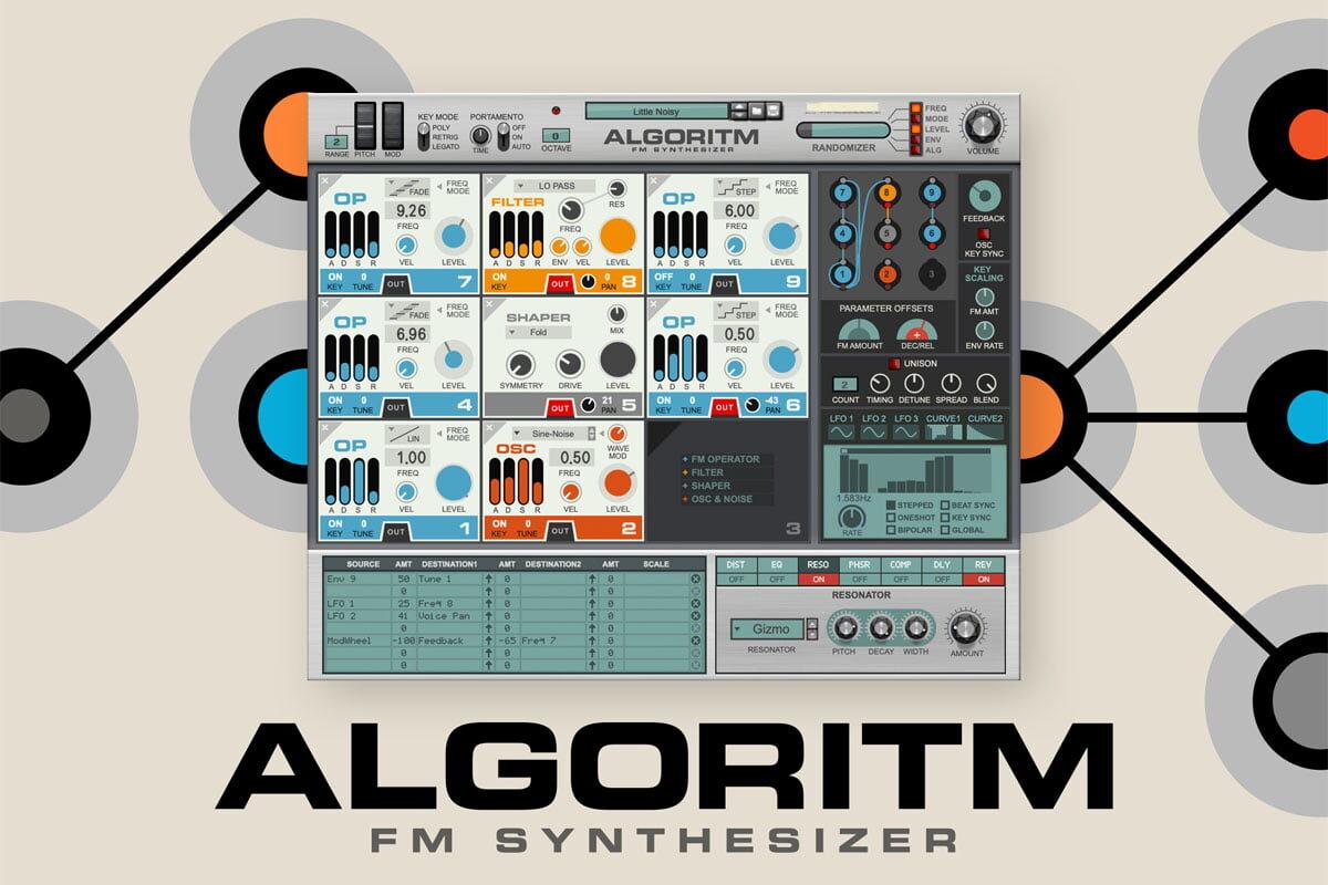 Reason Studios Algoritm – nowy syntezator wirtualny