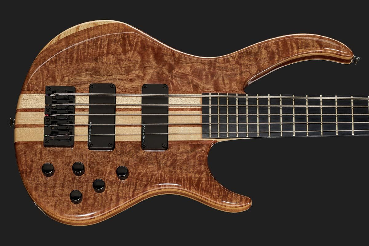Harley Benton – gitary basowe z serii Deluxe