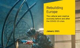 "Raport ""Rebuilding Europe"" – europejska kultura po kryzysie covidowym"