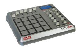 Akai MPD24 – test kontrolera MIDI
