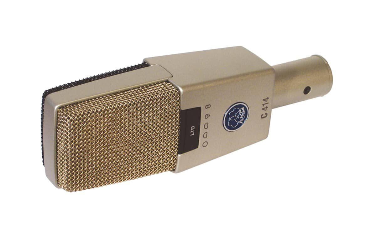 AKG C414 LTD – test mikrofonu pojemnościowego