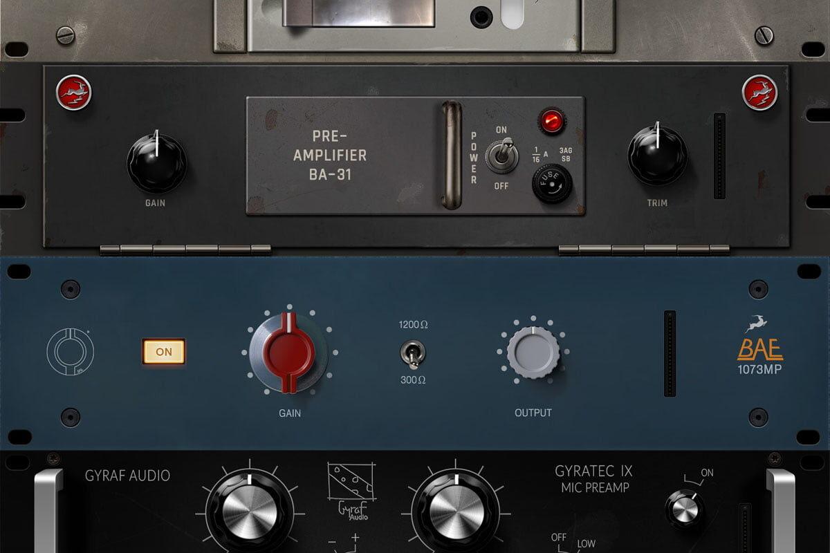 Antelope Audio – porównanie wirtualnych preampów (wideo)