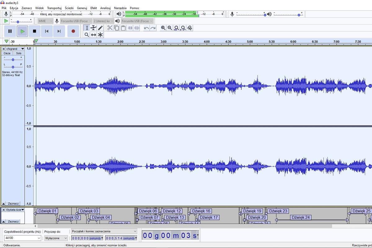 Audacity 3.0.0 – nowa wersja darmowego edytora audio