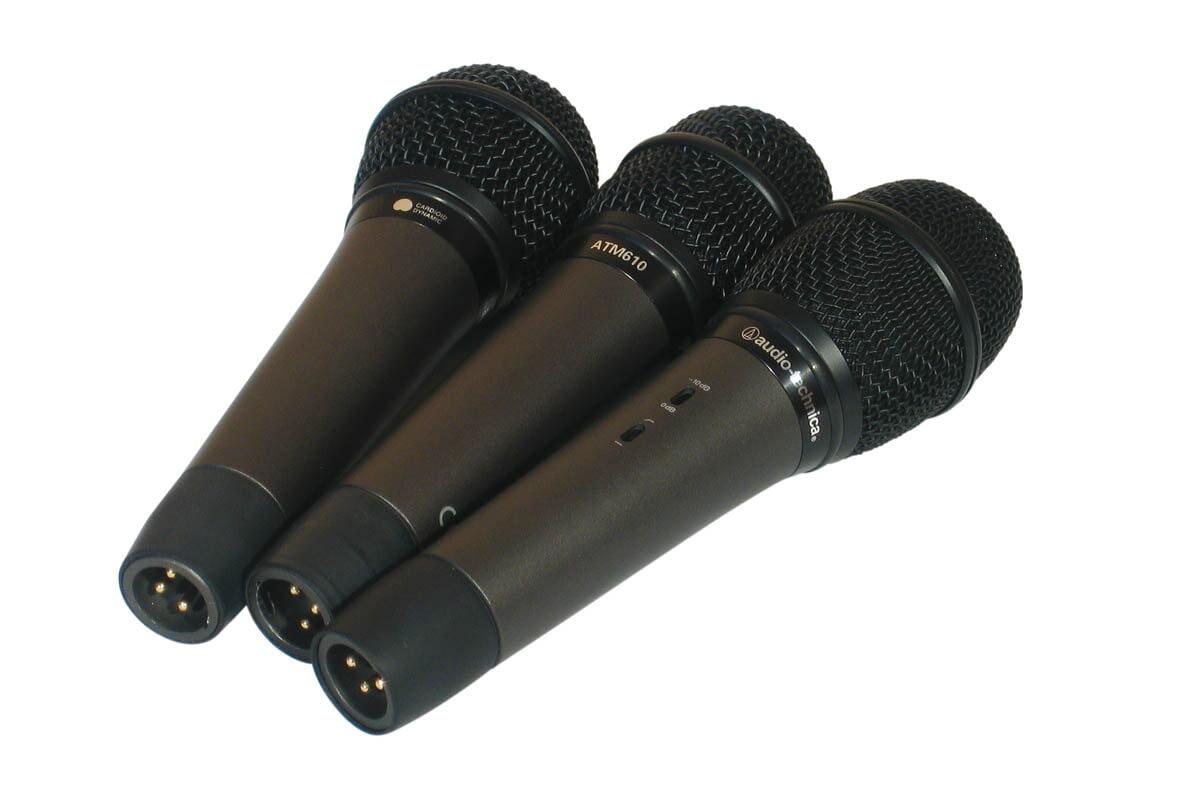 Audio-Technica ATM-410, ATM-610, ATM-710 – test mikrofonów