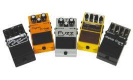 BOSS DN-2, FZ-5, ML-2, FBM-1, FDR-1 – test efektów gitarowych