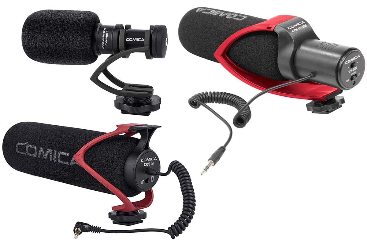 Przegląd – mikrofony do kamer, lustrzanek i smartfonów: Comica