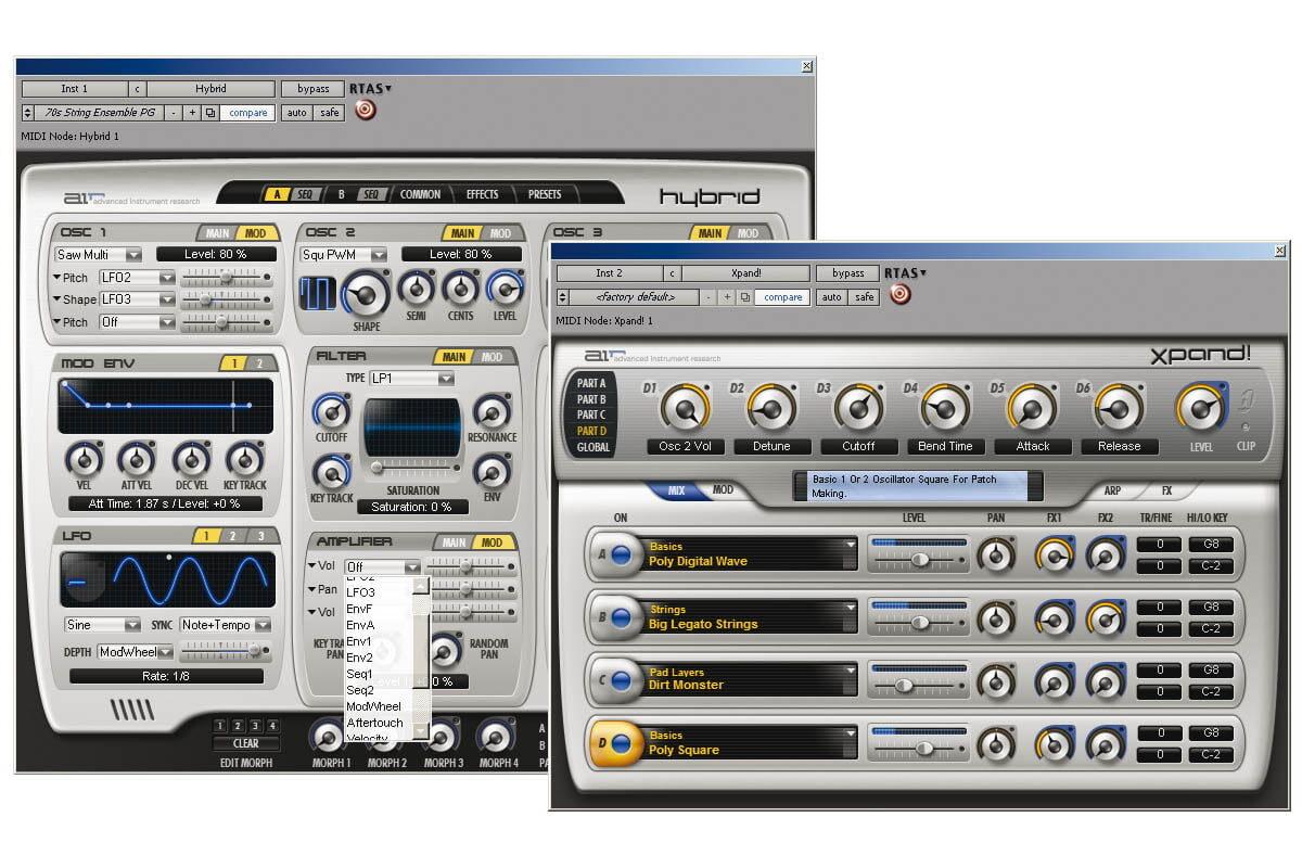 Digidesign Xpand! i Hybrid – test instrumentów programowych