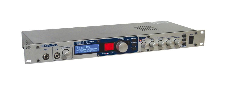 Digitech GSP 1101 – test preampu / procesora gitarowego