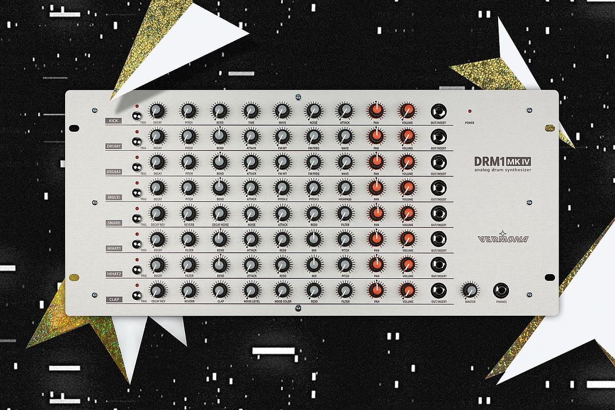 Vermona DRM1 MKIV – nowa wersja syntezatora perkusyjnego