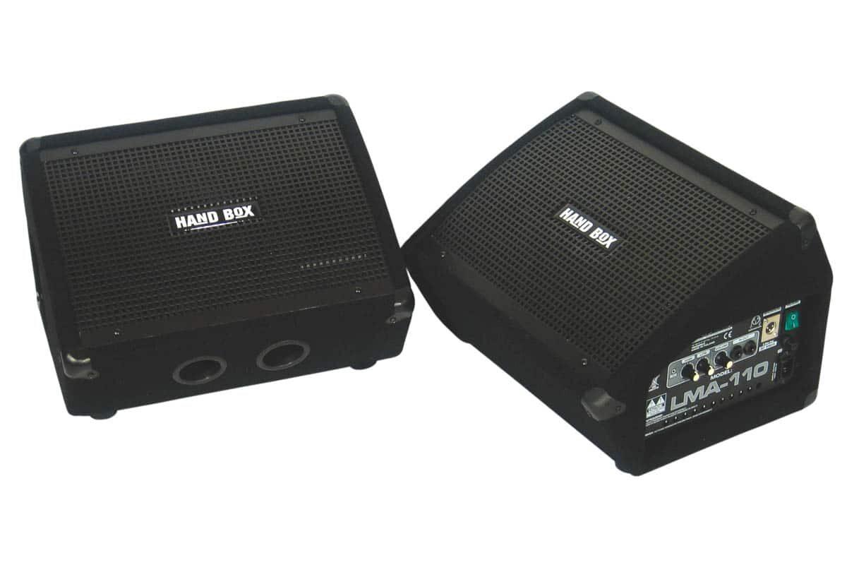 Hand Box LMA-110 i LM-110 – test monitorów scenicznych