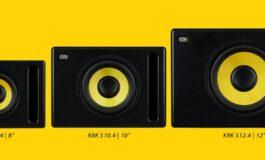 KRK Systems – nowe subwoofery S8.4, S10.4 i S12.4
