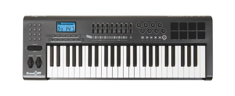 M-Audio Axiom 49 – test klawiatury sterującej