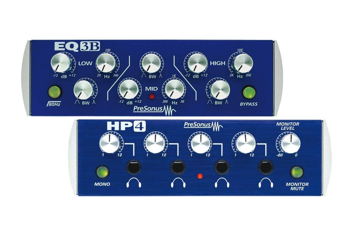 Presonus HP4 i EQ3B – test procesorów sygnałowych