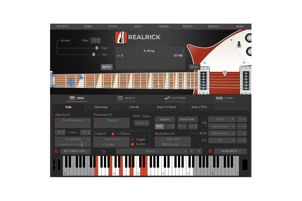 MusicLab RealRick 5 – wirtualny Rickenbacker