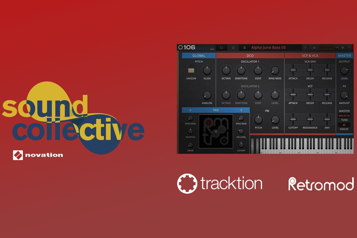 Novation Sound Collective: Tracktion RetroMod 106