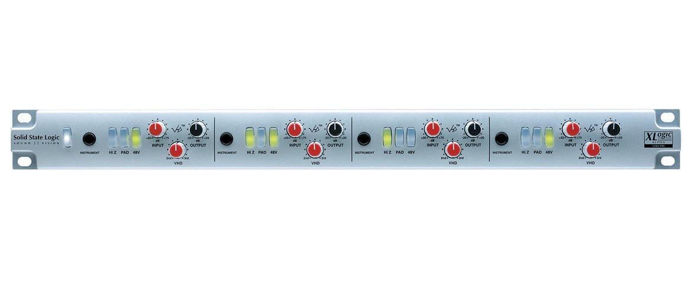 SSL XLogic Alpha VHD Pre – test przedwzmacniacza mikrofonowego