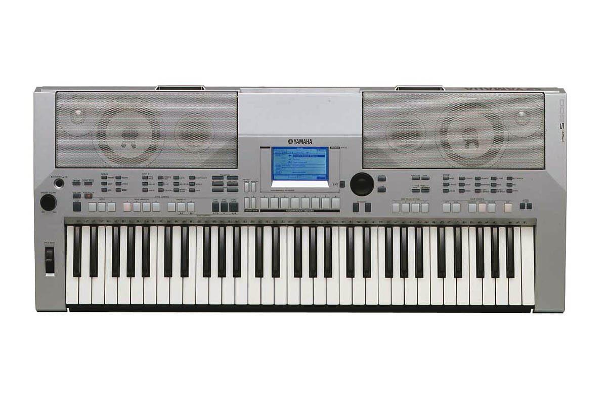 Yamaha PSR-S500 – test keyboardu