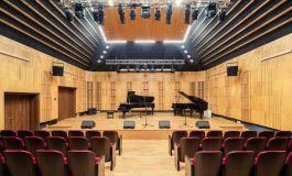 L-Acoustics w sali koncertowej szkoły muzycznej w Zambrowie