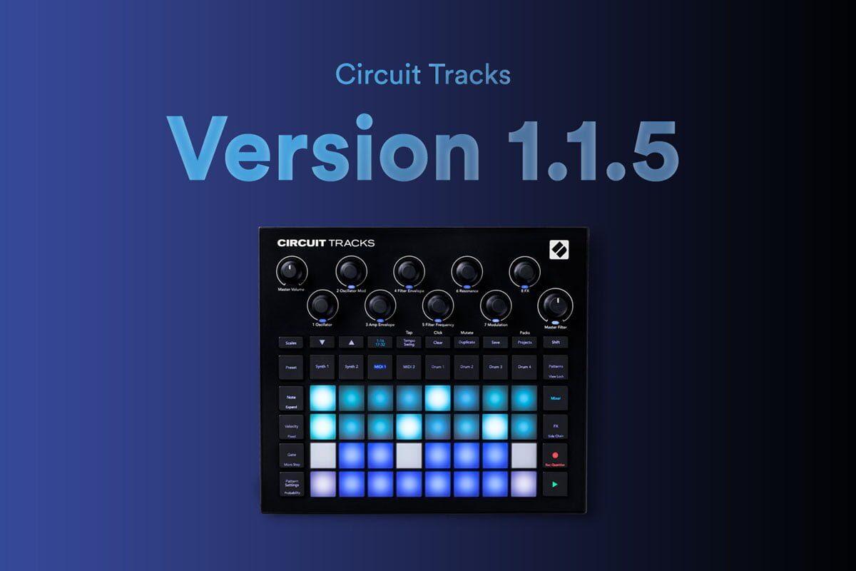 Nowe możliwości grooveboksa Novation Circuit Tracks