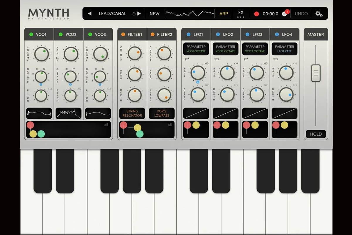 Fingerlab Mynth – nowy syntezator dla iOS