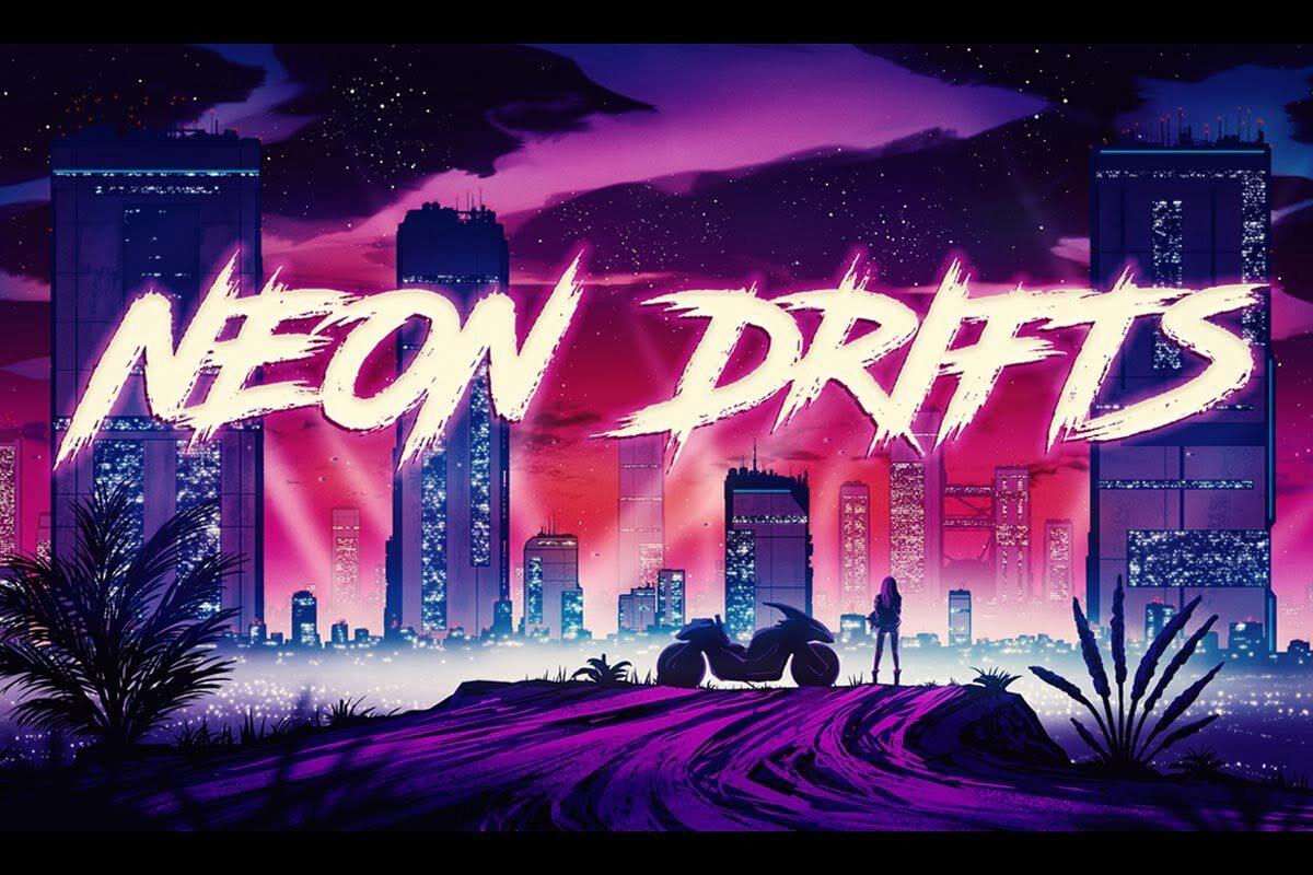 Neon Drifts dla Steinberg Retrologue 2