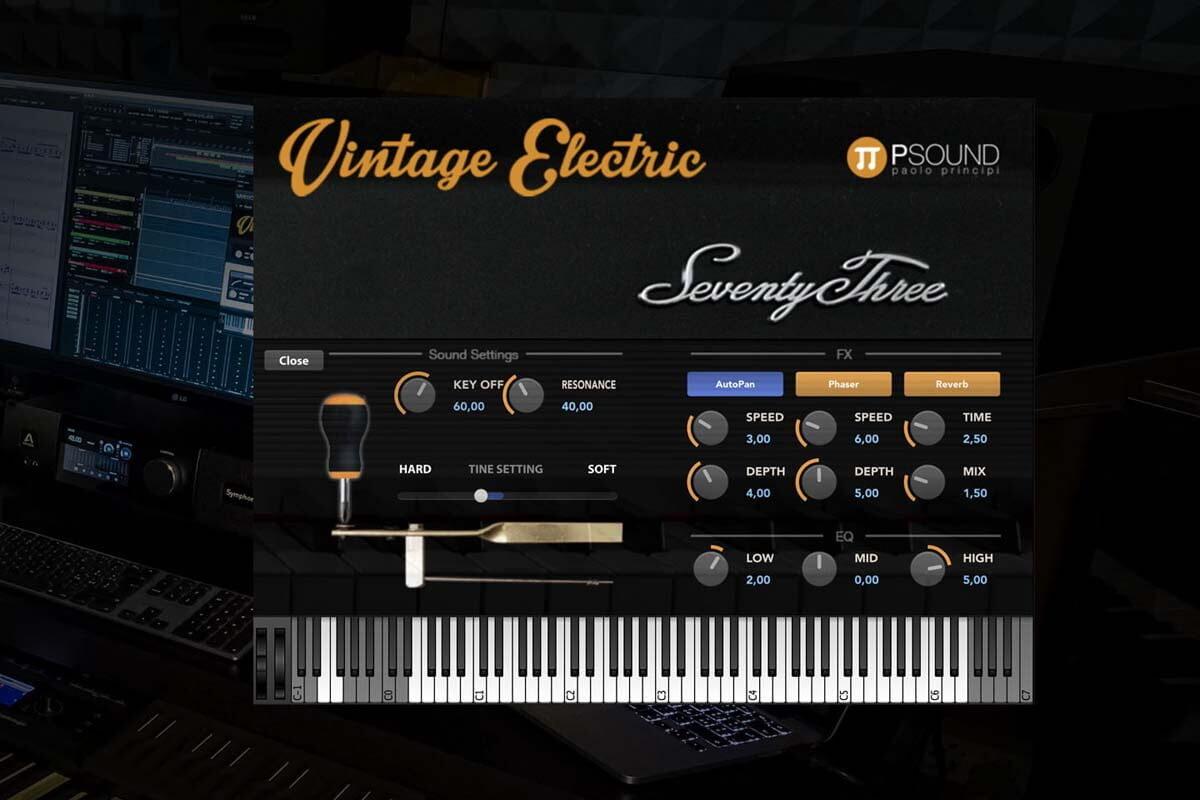 PSound Vintage Electric taniej dla posiadaczy klawiatur Studiologic SL