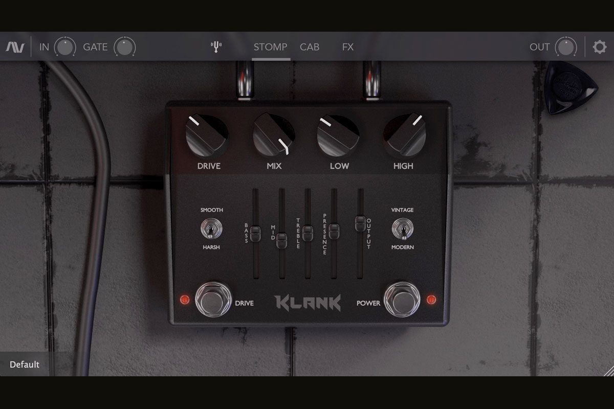 Audio Assault KLANK – wirtualny preamp basowy