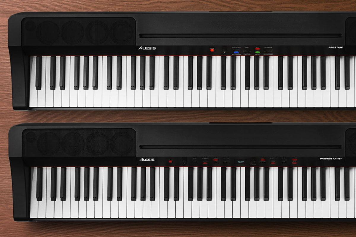 Alesis – dwa nowe pianina cyfrowe Prestige