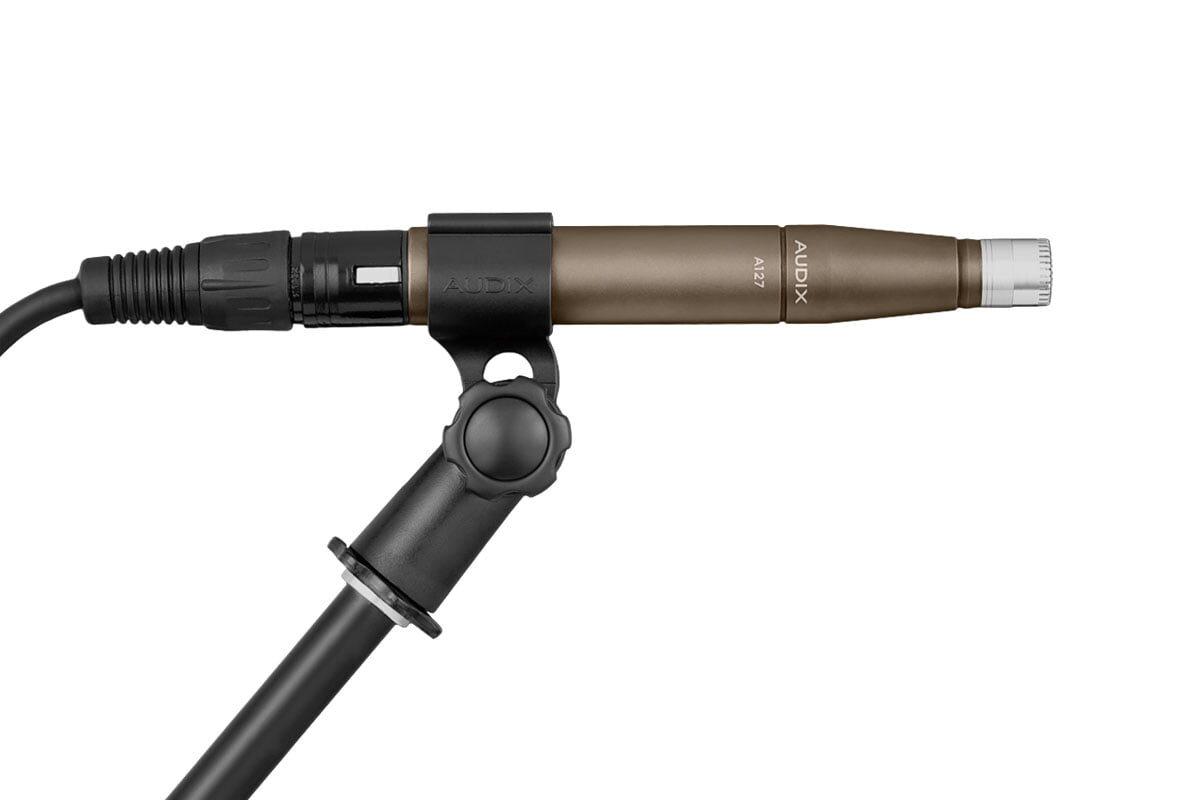 Audix A127 – nowy mikrofon małomembranowy