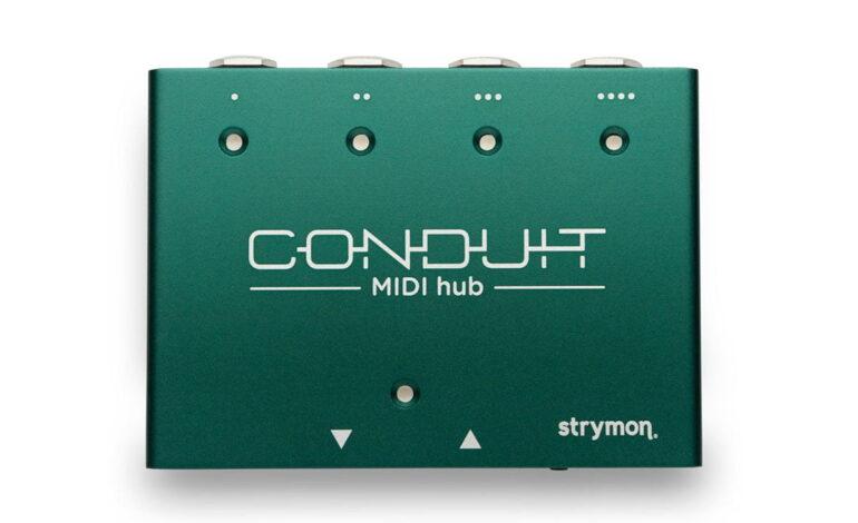 Strymon Conduit – gitarowy interfejs MIDI