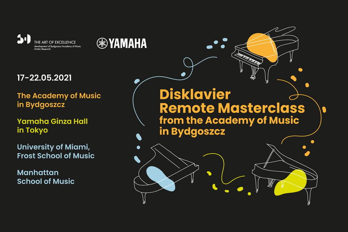 Disklavier Remote Masterclass w Bydgoszczy