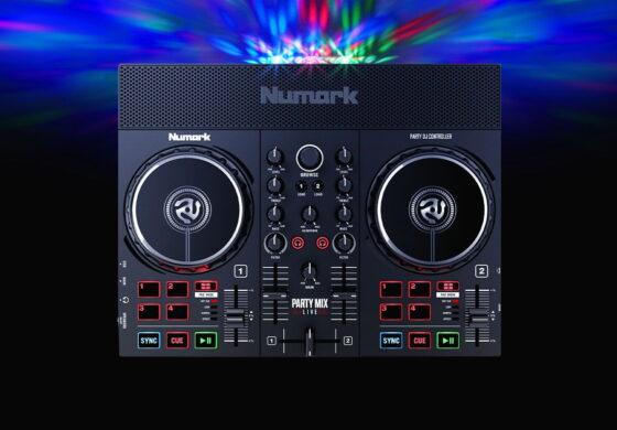 Nowe kontrolery Numark Party Mix dla DJ'ów