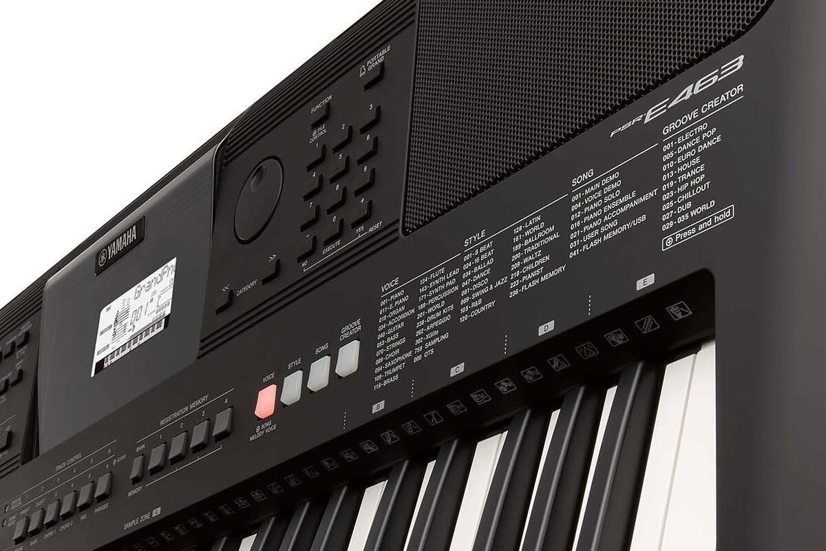 Yamaha PSR-E463 – keyboard z kreatywnymi funkcjami